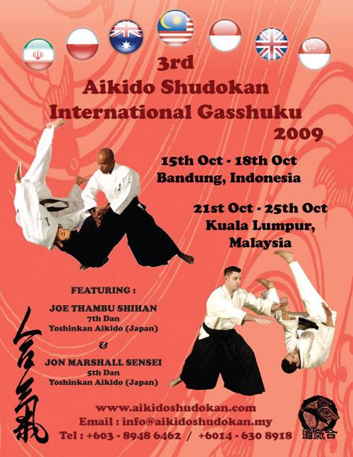 Aikido Shudokan 3rd International Gasshuku