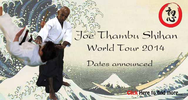 Joe Thambu Shihan World Tour 2014