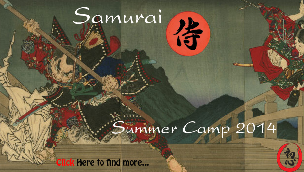 Junior Samurai Summer Camp