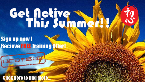 Get Active This Summer !!