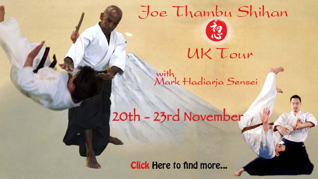 Joe Thambu Shihan UK Tour with Mark Hardiarja Sensei.